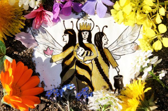 Bienen ~ Botinnen der Göttin